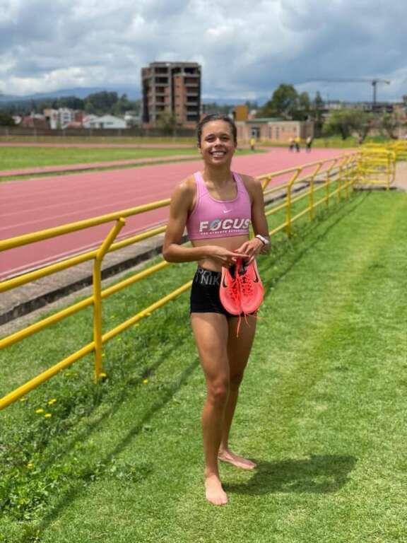 Nuevo récord de 1.500 en el Nacional de Venezuela: Joselyn Brea 10