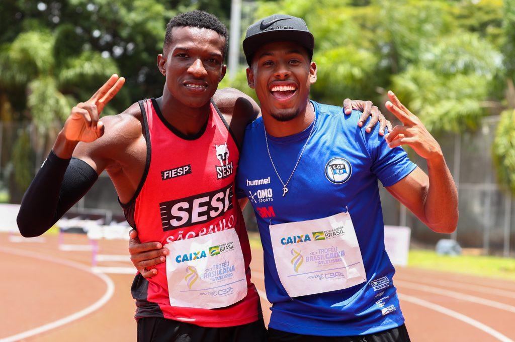 Los sprinters brasileños lucen en California y fueron designados para el Mundial de Relevos 3