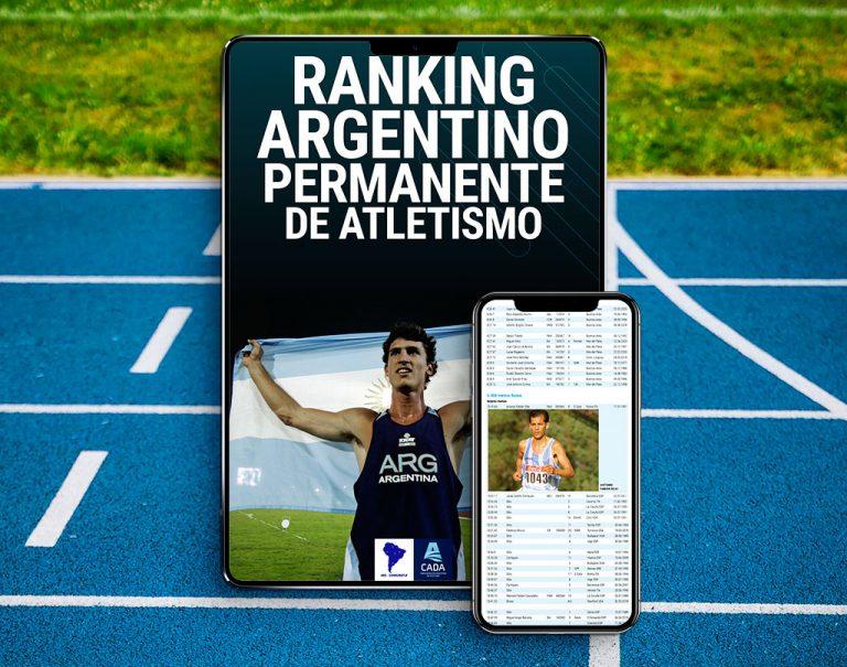 Nuevo libro CADA ranking argentino permanenete
