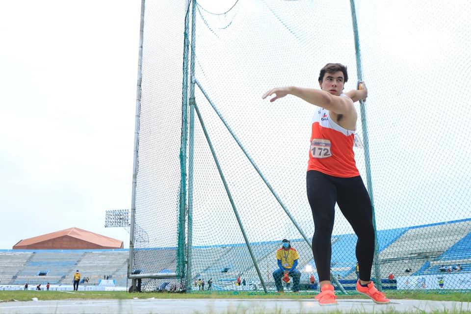 Trinidad Hurtado y Lucas Nervi sobresalieron en Santiago de Chile 3