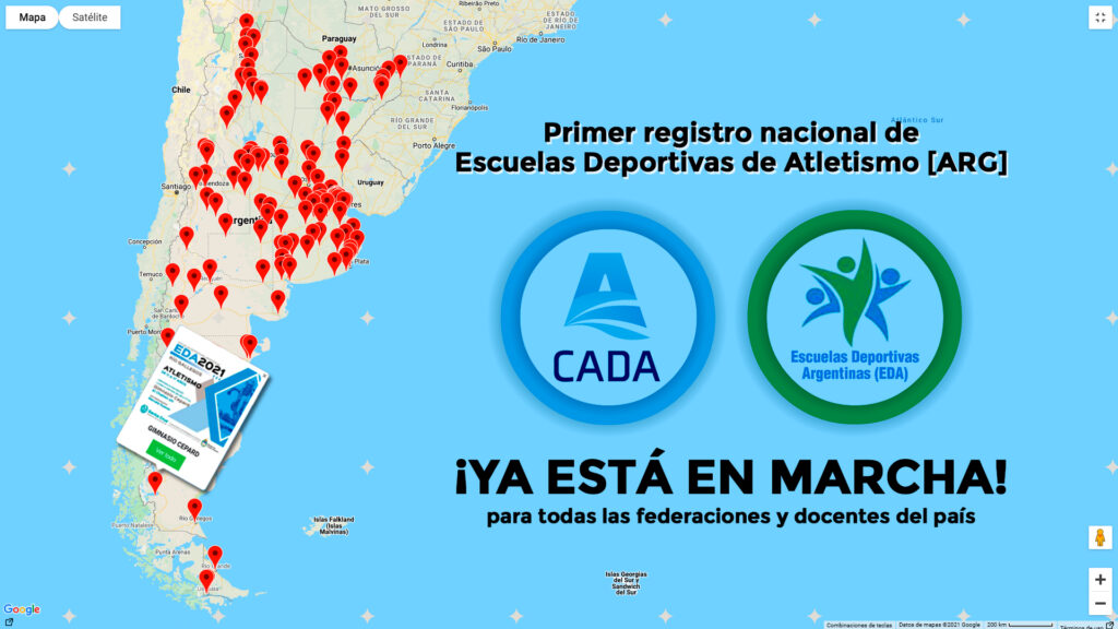 EL PRIMER REGISTRO NACIONAL DE ESCUELAS DE ATLETISMO ¡YA ESTÁ EN MARCHA!