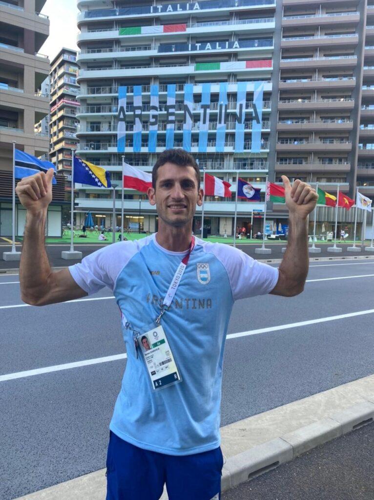 Germán Chiaraviglio se queda sin los Juegos 15