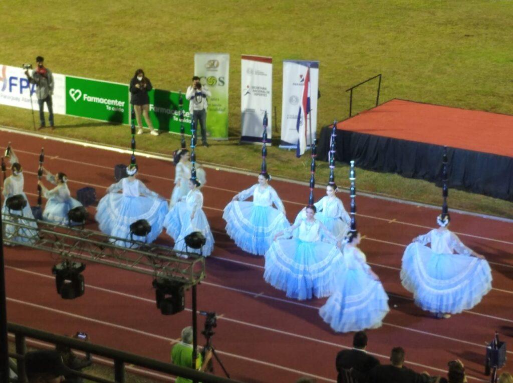 Inauguración sudamericano U-18 en Encarnación 1