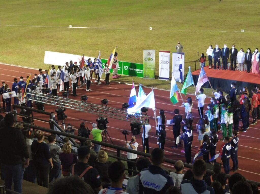 Inauguración sudamericano U-18 en Encarnación 2
