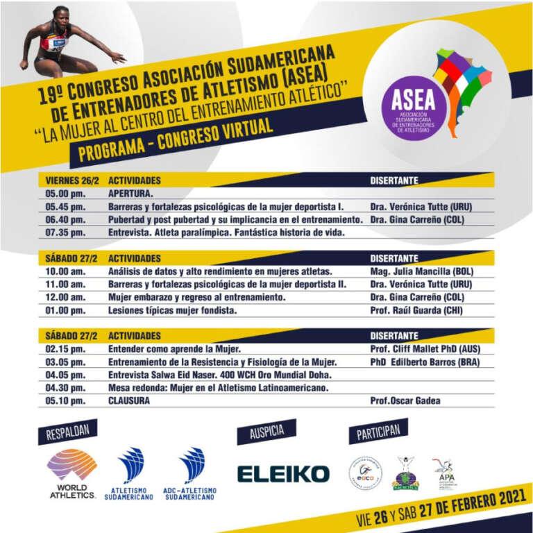 19° Congreso Anual de ASEA 1