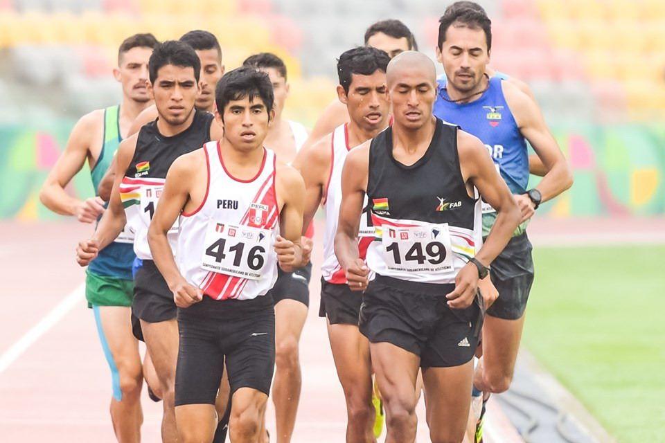 Vidal Basco, nueva figura del atletismo de Bolivia 12